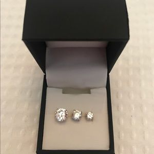 Jewelry - Collection of Single CZ Studs